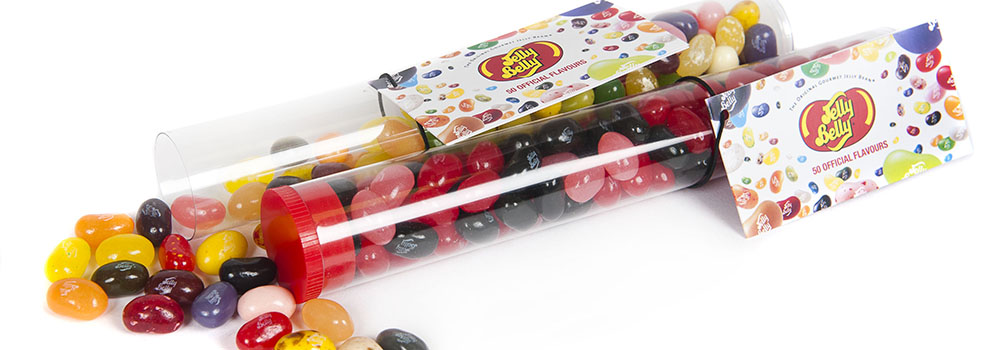 Jelly Belly Promotional Tubes