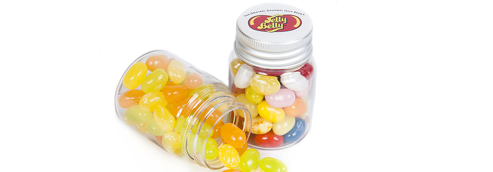 Jelly Belly Promotional Jars