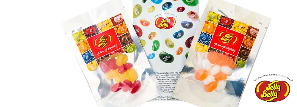 Check out our brand new Jelly Belly Mini Pouch Packs