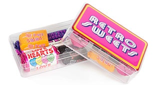 Retro Sweets Rectangle