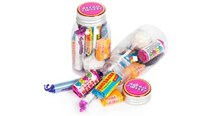 Retro Sweets Middy Jar