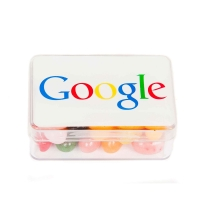 Google Small Rectangle Jelly Belly Pot PM5002 -  Click for larger image