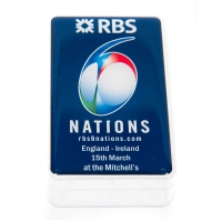 RBS 6 Nations Large Jelly Belly Rectangle Pot PM5003 -  Click for larger image