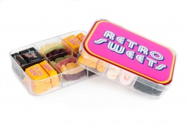Retro Sweets 6 hole tackle box